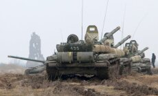 Krievija sāk militārās mācības Ukrainas pierobežā
