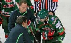 'Ak Bars' KHL spēlē pārspēj Pujaca 'Avangard'; Dārziņš gūst savainojumu