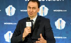 Team Europe general manager Miroslav Satan