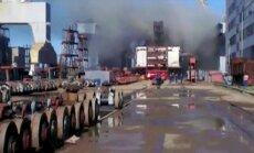 Pēc ugunsgrēka uz atomzemūdenes 'Tomsk' hospitalizēti 15 cilvēki