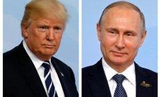 Vairākās NATO valstīs pilsoņi vairāk uzticas Putinam nekā Trampam