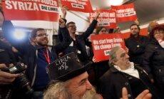 Balsotāju aptaujas: vēlēšanās Grieķijā visvairāk balsu saņēmusi SYRIZA
