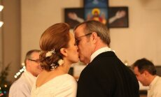 Foto: Ieskats Ilvesa un Kupces laulību ceremonijā