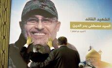 Damaskā nogalināts 'Hezbollah' kaujinieku augstākais komandieris Sīrijā
