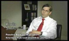 """""""Latvija var"""": PB ekonomists Kārlis Šmits"""