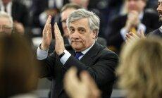 Vairums Latvijas eiroparlamentāriešu pozitīvi vērtē Tajāni ievēlēšanu par EP prezidentu