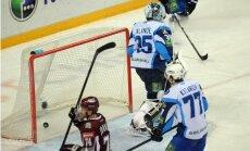 Rīgas 'Dinamo' vēlreiz neatstāj cerības uz uzvaru Minskas hokejistiem
