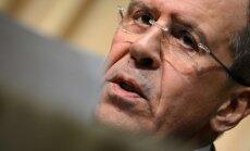 ES attiecībās ar Ukrainu sasniegts 'patiesības mirklis', saka Lavrovs