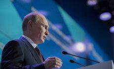 Путин с юмором отнесся к санкциям США