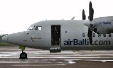 'airBaltic' pasasžieru skaits pērn audzis par 5%; decembrī kritums par 5%