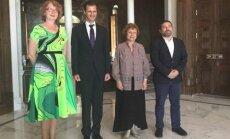 """Жданок встретилась с президентом Сирии Асадом: """"Не думаю, что он диктатор"""""""