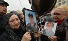Foto: Prokrievisko aktīvistu rīkotā saietā piemin Odesas slaktiņā bojāgājušos
