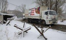 EDSO: Krievijas 'humānajā konvojā' bija 18 degvielas autocisternas