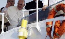 Pāvests mudina Latīņameriku nepieļaut narkotiku legalizāciju