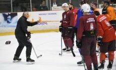 В сборной Латвии по хоккею на этап Евровызова — сыновья Калвитиса и Смирнова