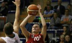 'Betsafe/Liepāja' basketbolisti izrauj uzvaru pār 'Valmiera/ORDO'