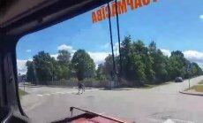 Video: Ventspilī pa ielām rikšo alnis