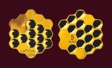 Latvijas Banka izlaidīs inovatīvu kolekcijas monētu 'Medus monēta'