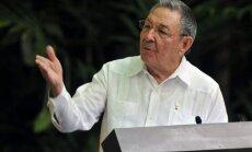 Rauls Kastro pateicas pāvestam par atbalstu ASV un Kubas attiecību uzlabošanā