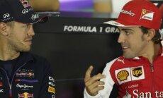 'McLaren' F-1 komanda gatava cīnīties par Fetelu un Alonso