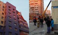 Gāzes eksplozijā daudzdzīvokļu ēkā Krievijā trīs bojā gājušie