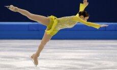 Pēc olimpisko spēļu īsās programmas daiļslidošanā sievietēm vadībā dienvidkorejiete Kima