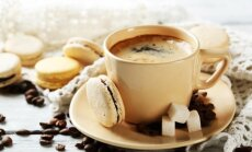 Dzērieni, gaļas ēdieni un deserti ar uzmundrinošo javu – kafiju