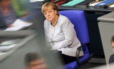 Партия Меркель терпит поражение на выборах в Берлине
