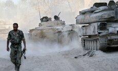 Sīrijas ministrs: ASV iejaukšanās radīs haosu reģionā