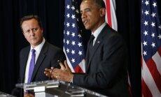 Putinam ir divas līdz četras nedēļas laika, lai izmainītu situāciju Ukrainā, brīdina Obama