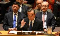 Ķīnai neesot risinājuma Ziemeļkorejas jautājumam