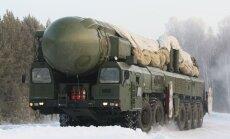 SIPRI: ASV un Krievija lēnām samazina un reizē modernizē kodolarsenālu