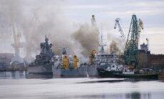 Ugunsgrēks uz Krievijas atomzemūdenes nodzēsts