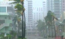 Postošās viesuļvētras 'Irma' epicentrs sasniedzis Floridas salas