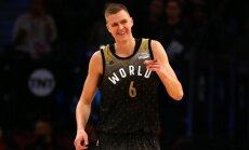 Porziņģis gūst 30 punktus NBA Uzlēcošo zvaigžņu mačā