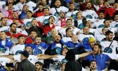 Horvātijas un Kosovas Futbola federācijām draud sods par līdzjutēju uzvedību