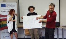 'Radām novadam' dalībnieki gūst praktiskas un teorētiskas zināšanas Lietuvā