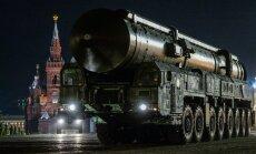'Sātans II': Krievija gatava izmēģināt raķeti, kas spēj iznīcināt veselas valstis