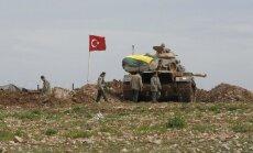 Turcijas spēki apšaudē nogalinājuši vairāk nekā 60 'Daesh' kaujiniekus