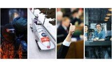 Spēlītes Saeimā, 'Prāta vētra' atgriežas, bobsleja augstākā pilotāža, Ukraina izslīd