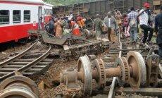 Pasažieru vilciena katastrofā Kamerūnā 55 bojāgājušie