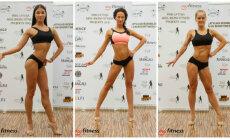 Foto: Kā, tuvojoties projekta noslēgumam, progresējušas 'Miss Bikini Fitness' dalībnieces