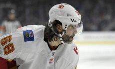 Spēļu diena NHL: Jāgram punkts, Raskam smadzeņu satricinājums, Sobotkam 5000 dolāru sods
