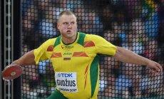 Дискобол Гуджюс принес Литве первую золотую медаль чемпионата мира-2017