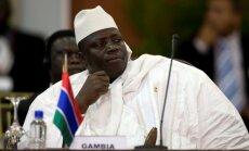 Gambijas prezidents pirms pilnvaru termiņa beigām izsludina ārkārtas stāvokli