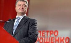 Ukrainas prezidenta vēlēšanas: līderis joprojām Porošenko; saskaitīts ap 85% balsu (plkst. 19:00)