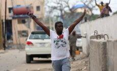 'Al Shabab' sarīko uzbrukumu viesnīcā Somālijas galvaspilsētā; pieci bojāgājušie