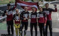 Latvijai septītā vieta šā gada pasaules BMX čempionāta medaļu vērtējumā
