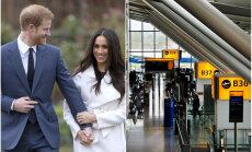 Bezmaksas kūkas un trompetistu priekšnesumi: Hītrovas lidostā svinēs karaliskās kāzas