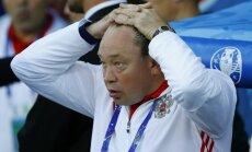 No amata atkāpjas Krievijas izlases treneris: Pasaules kausam komandu jāgatavo citam